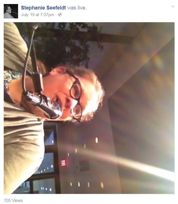 Stephanie Seefeldt FB Live