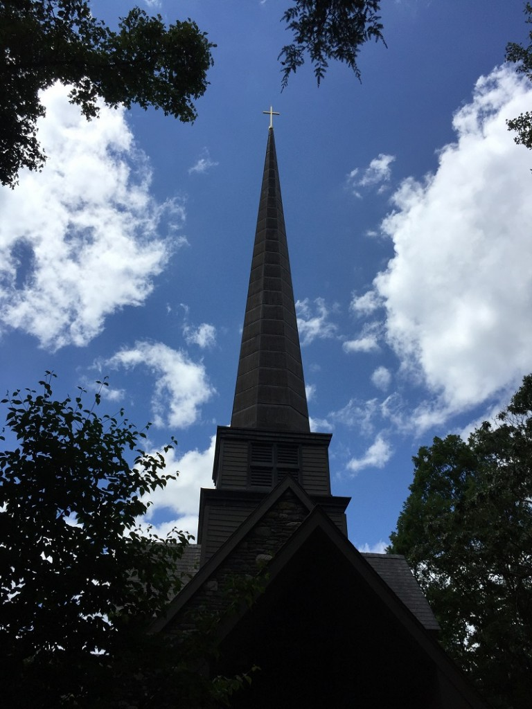 chapel and clouds in July 20167