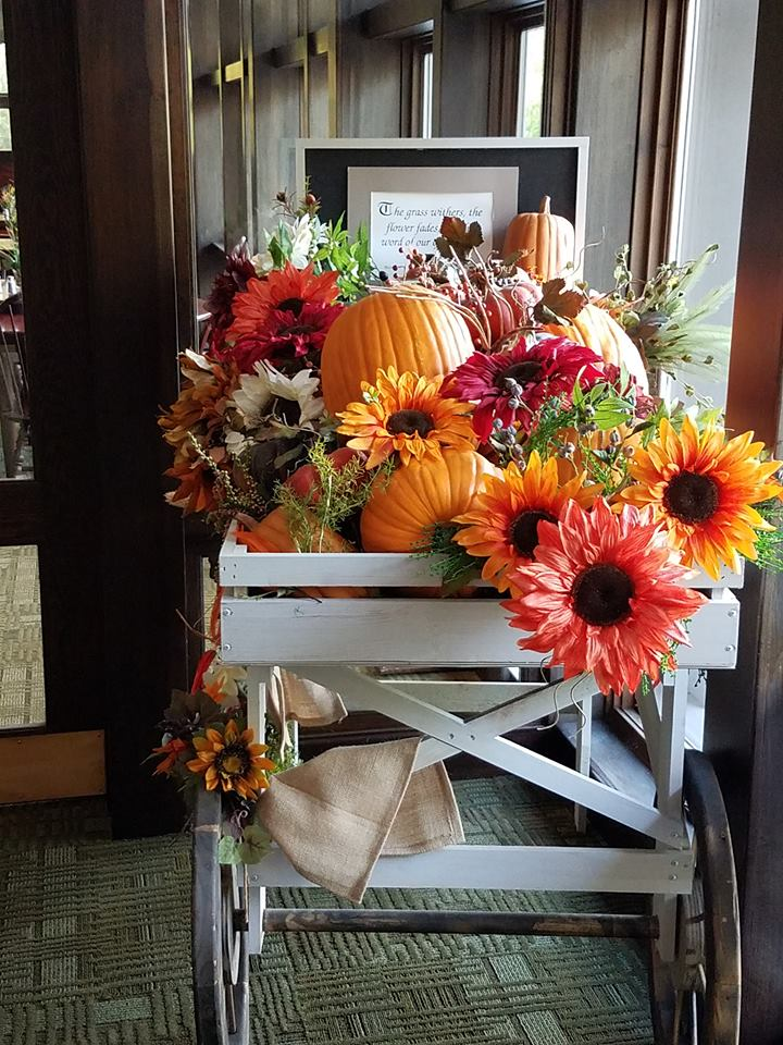Fall decoration in TC