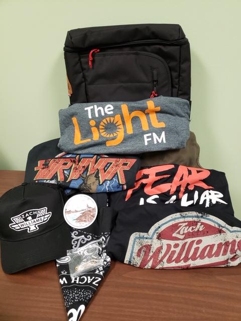 Zack Williams backpack